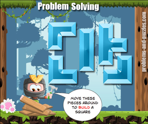 Square Puzzle - Excellent Problem Solving Lesson