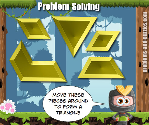 Triangle Puzzle - Excellent Problem Solving Lesson