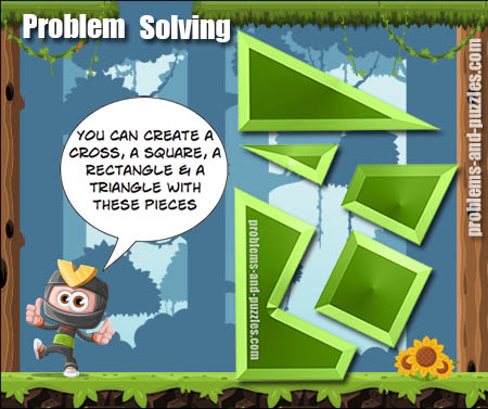 Multi Shape Puzzle - Excellent Solving Problem Lesson