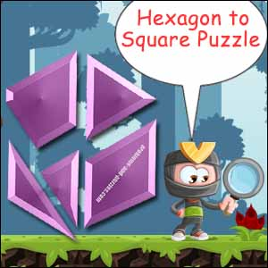 hexagon to square puzzle