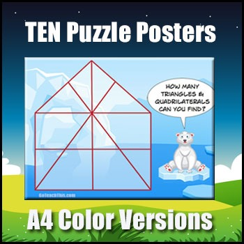 puzzle posters