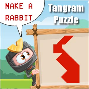 rabbit tangram