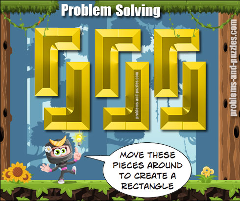 Rectangle puzzle - Excellent Solving Problem Lesson