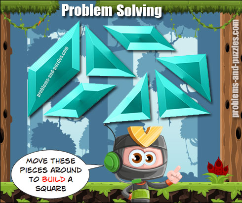 Square puzzle - Excellent Solving Problem Lesson